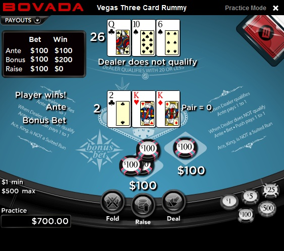 Vegas Three Card Rummy – Play Three Card Rummy Online